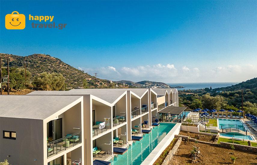 Διακοπές στο ΡΕΘΥΜΝΟ: Από 405€ για 4ήμερη απόδραση 2-6 ατόμων, με Ημιδιατροφή, στις υπερπολυτελείς σουίτες του ''T Hotel Premium Suites''