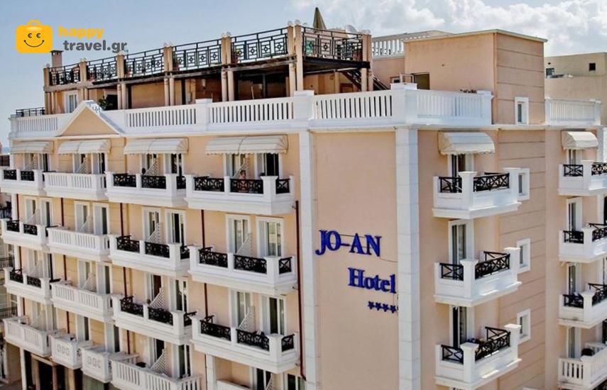 Διακοπές στην  ΚΡΗΤΗ:  Από 86€ για 4ήμερη απόδραση, με ΗΜΙΔΙΑΤΡΟΦΗ, στο JO-AN Palace  Hotel 4*, στην πόλη του Ρεθύμνου