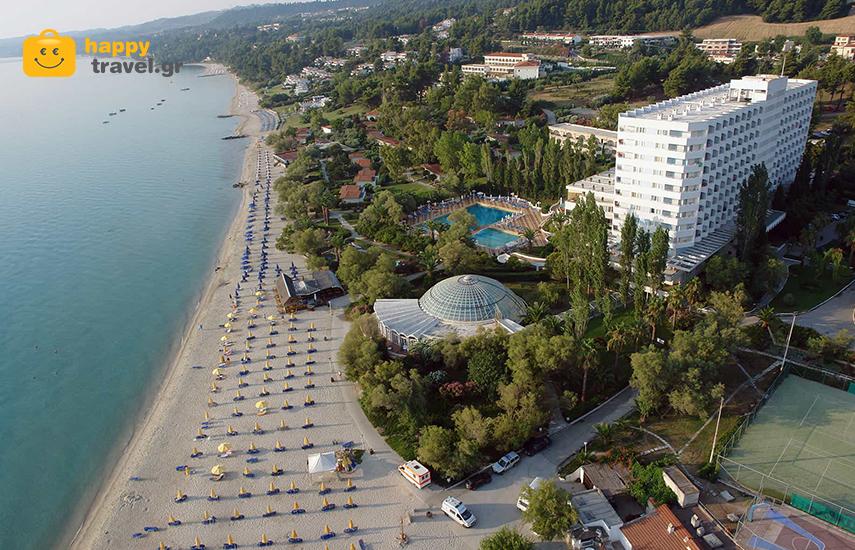 Διακοπές στη ΧΑΛΚΙΔΙΚΗ: Από 172€ για 5ήμερη απόδραση, με ΗΜΙΔΙΑΤΡΟΦΗ, στο PALLINI BEACH Hotel 4*, στην Καλλιθέα Χαλκιδικής