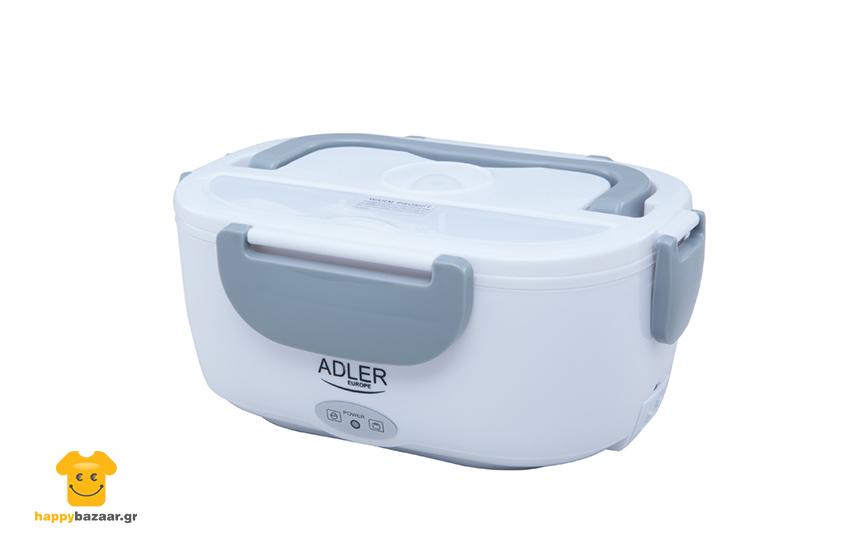 9,9€ από 24,9€ για Θερμαινόμενο Φαγητοδοχείο Adler, σε γκρι χρώμα, για να διατηρείται το γεύμα σας ζεστό εικόνα