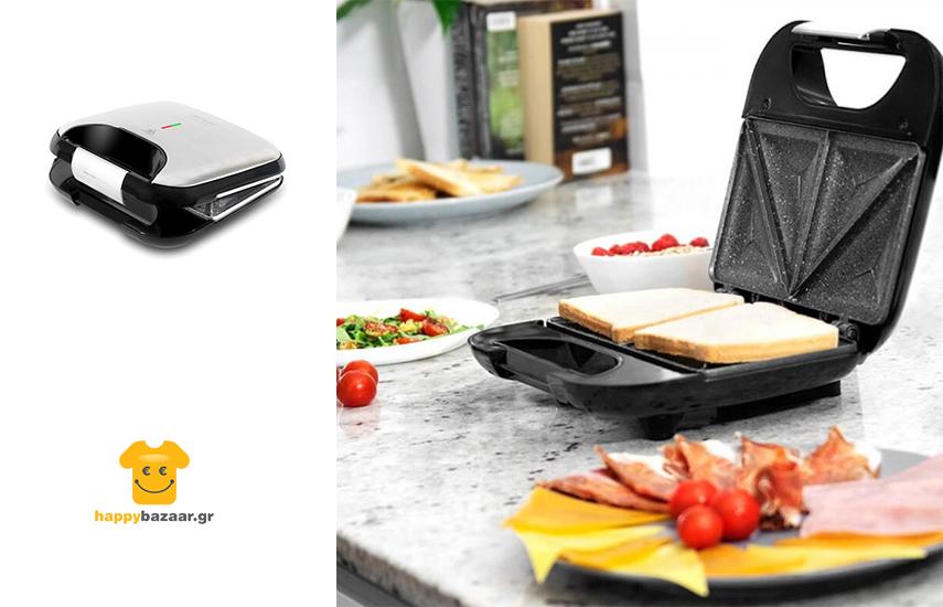 22,9€ από 49,9€ για Τοστιέρα 750W Rock´n Toast Fifty-Fifty