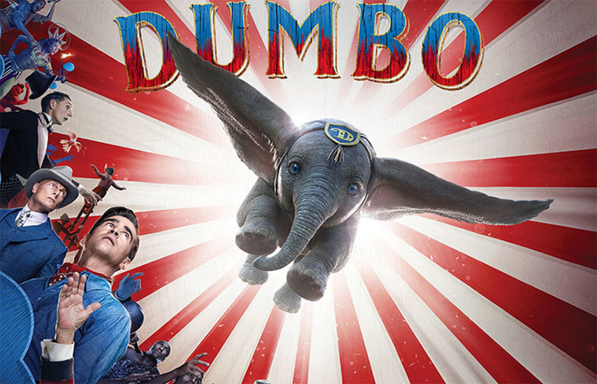 5€ από 8€ για είσοδο στην πολυαναμενόμενη κινηματογραφική υπερπαραγωγή της Disney ''Dumbo'', του Tim Burton, στον Κινηματογράφο Όνειρο εικόνα