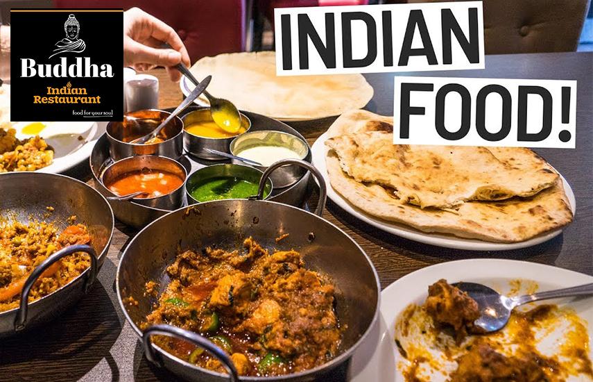 """12,5€ απο 25€ για menu 2 ατομων, με ελευθερη επιλογη, στο """"Buddha Indian Restaurant», τον κορυφαιο προορισμο για Ινδικο φαγητο, στου Ψυρρη"""