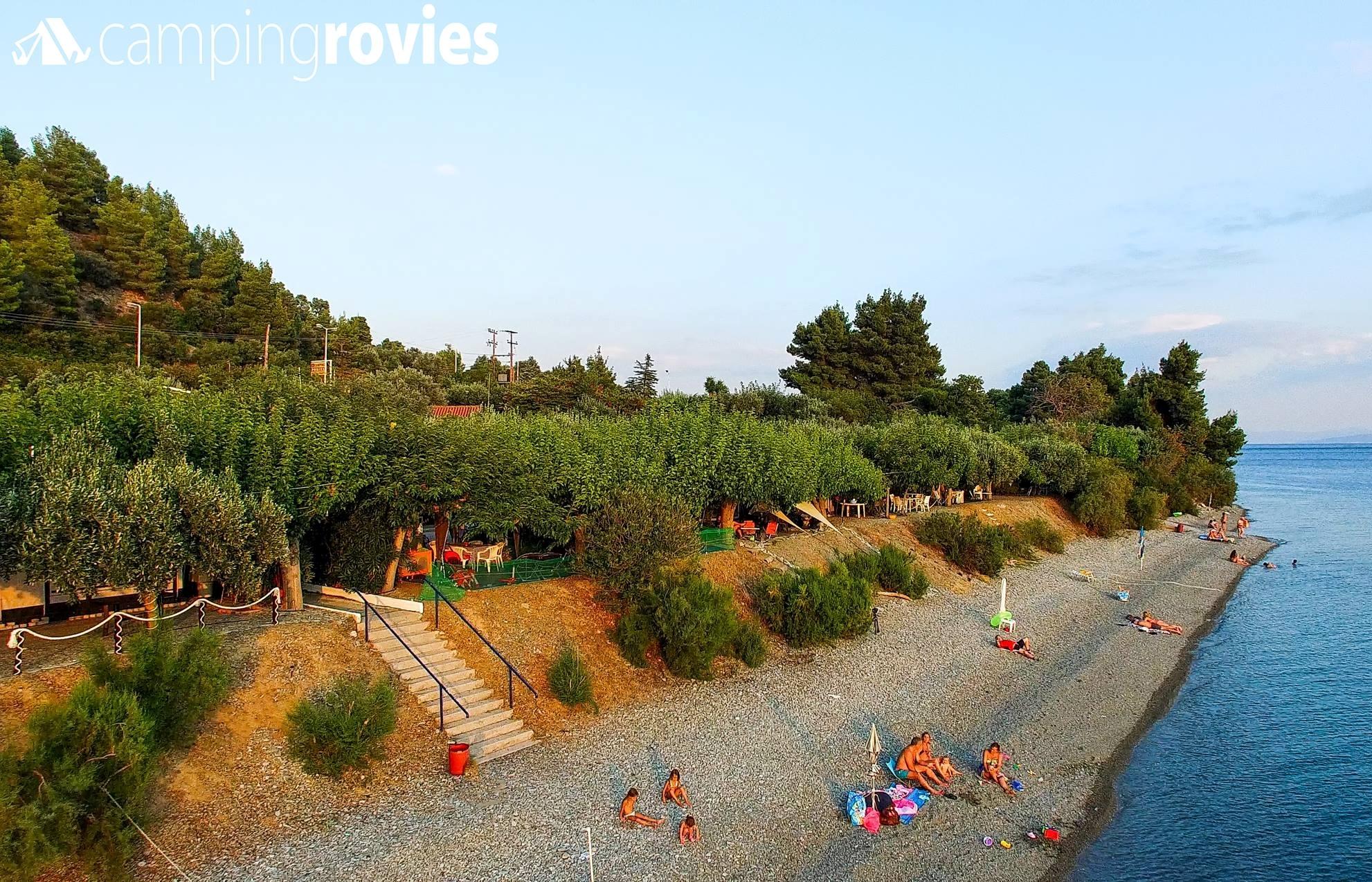 10,3€ από 21€ για 1 Διανυκτέρευση 2 ατόμων, με αυτόνομη πρόσβαση στην παραλία, θέση parking & παροχή ρεύματος, στο ειδυλλιακό ''Camping Rovies'' στην Βόρεια Εύβοια! Ίσως το καλύτερο camping της Ελλάδας! εικόνα