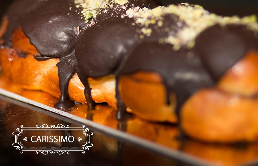 6,5€ από 12€ για Ολόφρεσκο Γεμιστό Τσουρέκι ή Οικογενειακό Προφιτερόλ, στο εργαστήριο ζαχαροπλαστικής ''Carissimo'' στον Περισσό