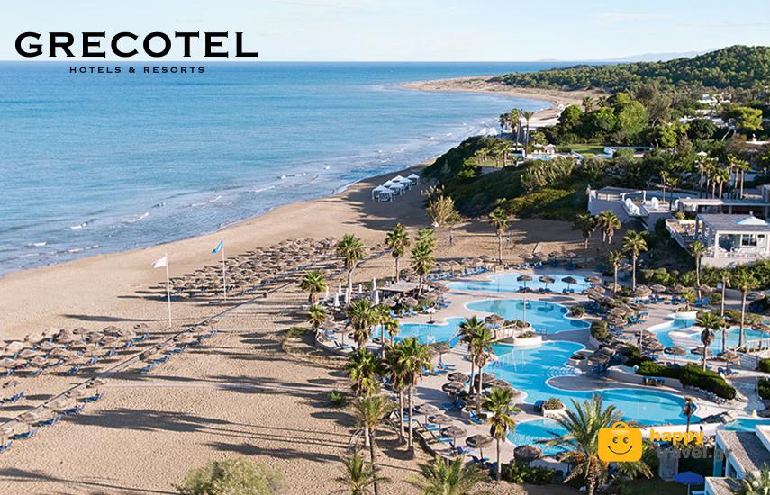 Διακοπές στα GRECOTEL! Από 145€ για διανυκτέρευση 2 ατόμων με Ημιδιατροφή στο ''Grecotel Olympia Oasis & Aqua Park'' στη Κυλλήνη