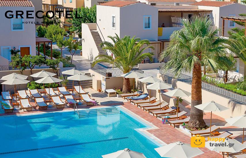 Διακοπές στα GRECOTEL! Από 85€ για διανυκτέρευση 2 ατόμων με Πρωινό στο ''Grecotel Grand Leoniki Resort'' στο Ρέθυμνο