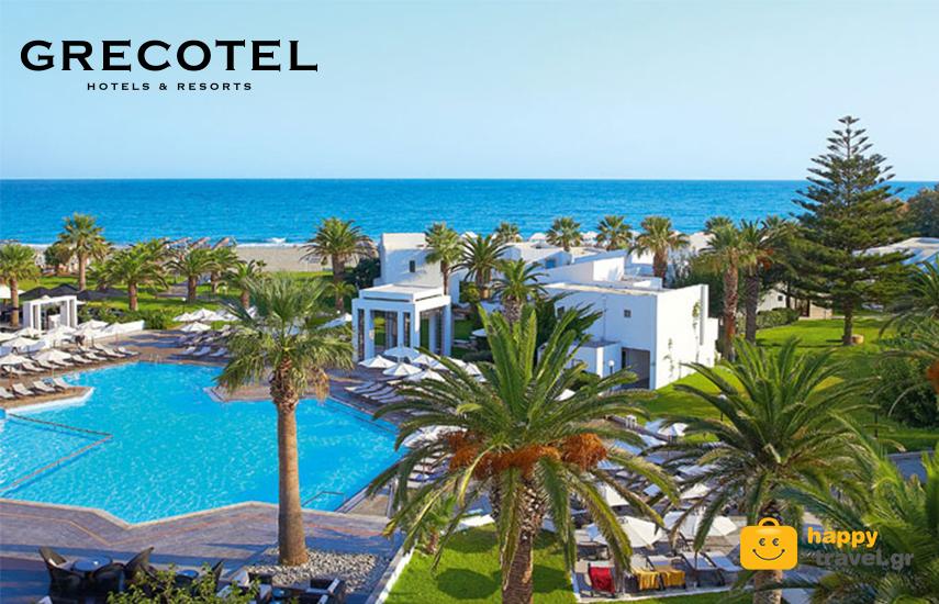 Διακοπές στα GRECOTEL! Από 106€ για διανυκτέρευση 2 ατόμων με Πρωινό στο ''Grecotel Villa Oliva Crete'' στον Αδελιανό Κάμπο