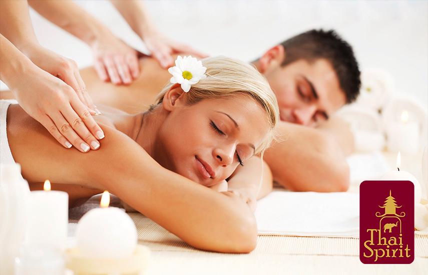 37,9€ από 80€ για 45' Thai Traditional ή Σιάτσου μαζί με 30' Head Massage ή Massage Πλάτης ή Ρεφλεξολογία, για 1 ζευγάρι μαζί στον ίδιο χώρο, στο ''Thai Spirit'' στην Εθνική Άμυνα