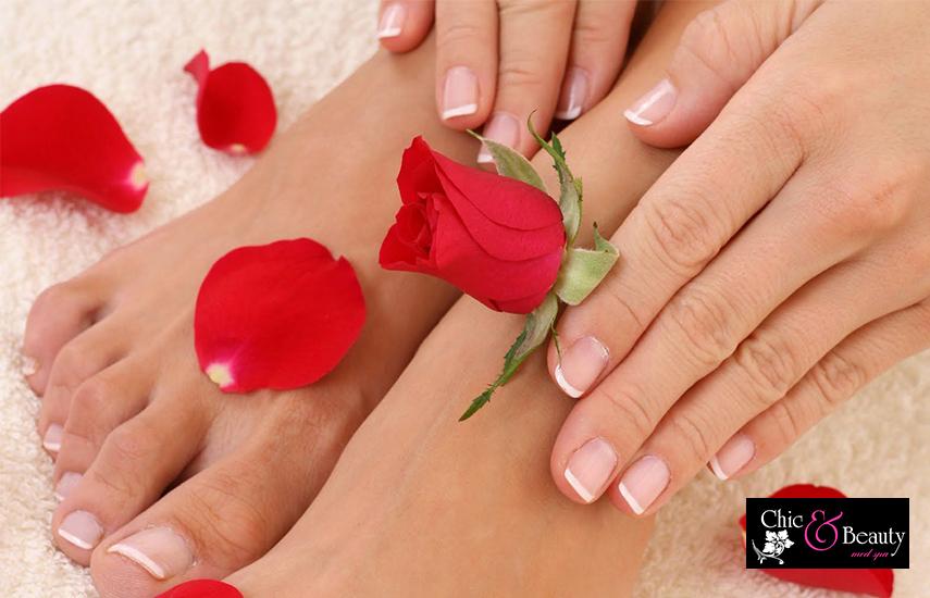 25€ από 50€ για Ημιμόνιμο Manicure, Pedicure απλό & IPL Laser σε περιοχή της επιλογής σας, στο ''Chic & Beauty'' στο Περιστέρι