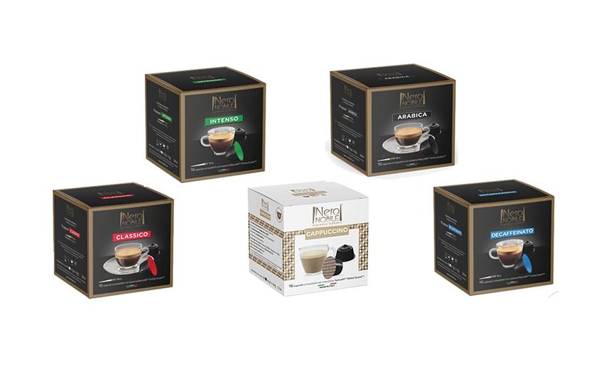 Ιταλικές Κάψουλες ΚΑΦΕ συμβατές με μηχανές DOLCE GUSTO: Η Καλύτερη τιμή της αγοράς (από 0,25€/κάψουλα)! Απολαύστε αρωματικό Ristretto ή Espresso ή Lungo, από τη NeroNobile, την ηγέτιδα εταιρία στην Ιταλική βιομηχανία καφέ!
