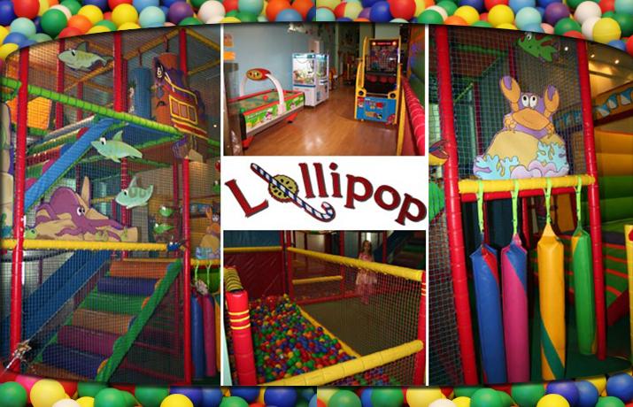 2,5€ από 7€ για Είσοδο 1 παιδιού & του συνοδού του, με Χυμό για το παιδί & Ρόφημα με Κέικ για το συνοδό, στον υπερσύγχρονο παιδότοπο ''Lollipop'' στο Π.Φάληρο
