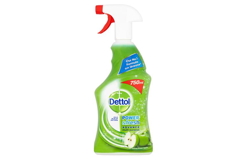 DETTOL Αντιβακτηριδιακό πολυκαθαριστικό Spray Green Apple: Από 4€ για 1-3 συσκευασίες 500ml για καθαριότητα & φρεσκάδα στο σπίτι. Η καλύτερη τιμή της αγοράς!