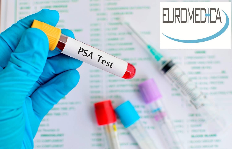 25€ από 80€ για ολοκληρωμένη αιματολογική εξέταση PSA και FREE PSA, για έλεγχο του προστάτη, στην EUROMEDICA σε Κηφισιά-Χαλάνδρι-Γαλάτσι