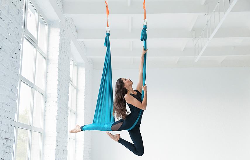 7€ από 15€ για Μάθημα Aerial Yoga διάρκειας 1 ώρας στο κέντρο εναλλακτικών θεραπειών