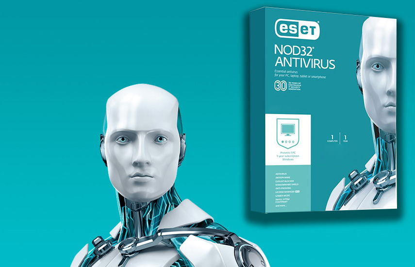 19,9€ από 54€ για το Αυθεντικό Antivirus ESET NOD32, για προστασία του υπολογιστή σας από κακόβουλο λογισμικό και ιούς