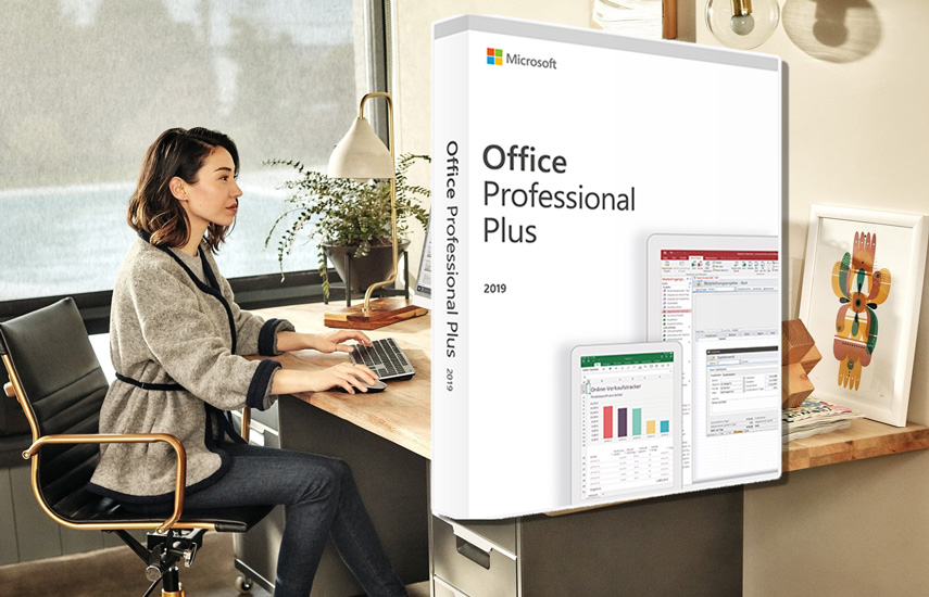 39,9€ από 450€ για Αυθεντικό Microsoft Office Professional Plus 2019 32/64 Bit for PC (Word-Excel-Powerpoint-OneNote-Outlook-Publisher-Access-Skype)