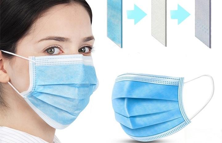 Από 0,7€ για Μάσκα Προσώπου 3 φύλλων (3 PLY protective earloop), σε πακέτα των 20 ή 40 τεμαχίων, για υψηλή προστασία του αναπνευστικού συστήματος από λοιμώξεις και μεταδιδόμενα νοσήματα.