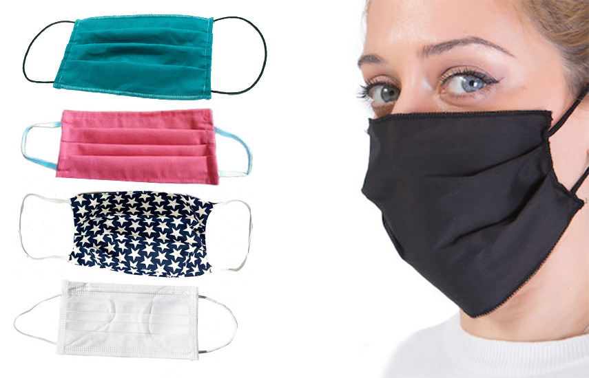 Από 1,2€ για προστατευτική, διπλού τοιχώματος, Υφασμάτινη Μάσκα προσώπου με υψηλής ποιότητας βαμβάκι που πλένεται, σιδερώνεται και ξαναφοριέται!
