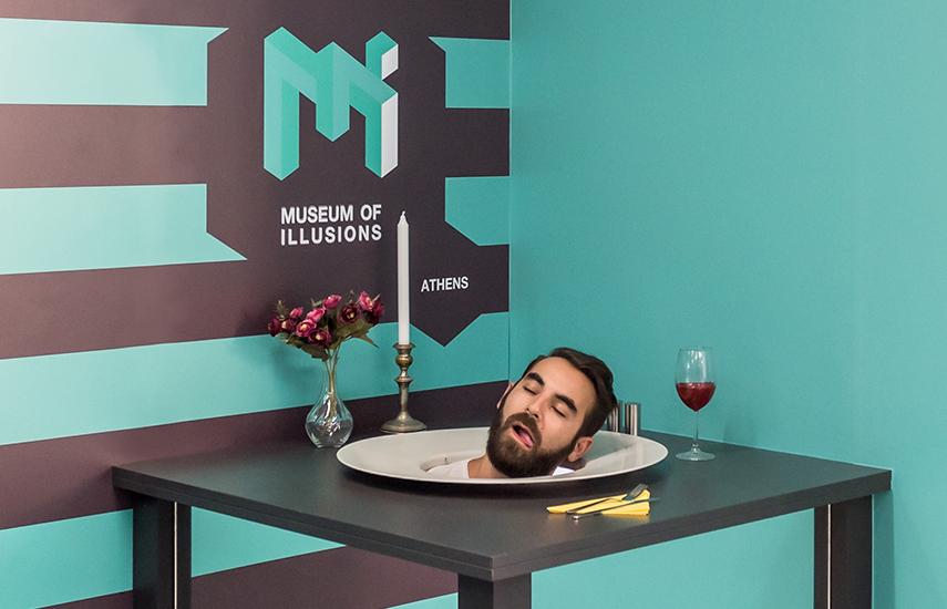 5,5€ από 9€ για είσοδο στο αγαπημένο ''Museum of Illusions Athens'' (Μουσείο Ψευδαισθήσεων) στο Μοναστηράκι, γιατί τίποτα δεν είναι όπως φαίνεται... ειδικά ΕΔΩ!