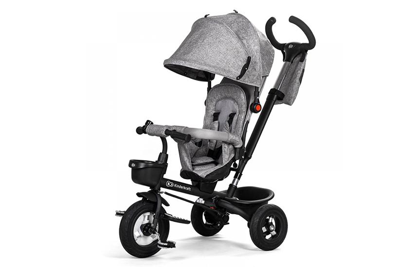 145,5€ από 199,9€ για Τρίκυκλο Παιδικό Ποδήλατο - Καρότσι KinderKraft Aveo Χρώματος Γκρι, με Δωρεάν Μεταφορικά
