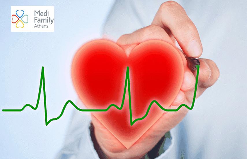 29€ για Kαρδιολογική Βεβαίωση με Εξέταση, Εκτίμηση, Ηλεκτροκαρδιογράφημα & Triplex Καρδιάς, στο Medi Family Athens, στο Μουσείο