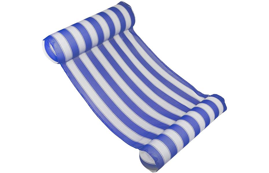 10,9€ από 60€ για επαναστατικό φουσκωτό Στρώμα/Αιώρα Θαλάσσης, για να έχετε το σώμα σας πάντα μέσα στο νερό! Ιδανικό για στιγμές χαλάρωσης σε θάλασσα ή πισίνα