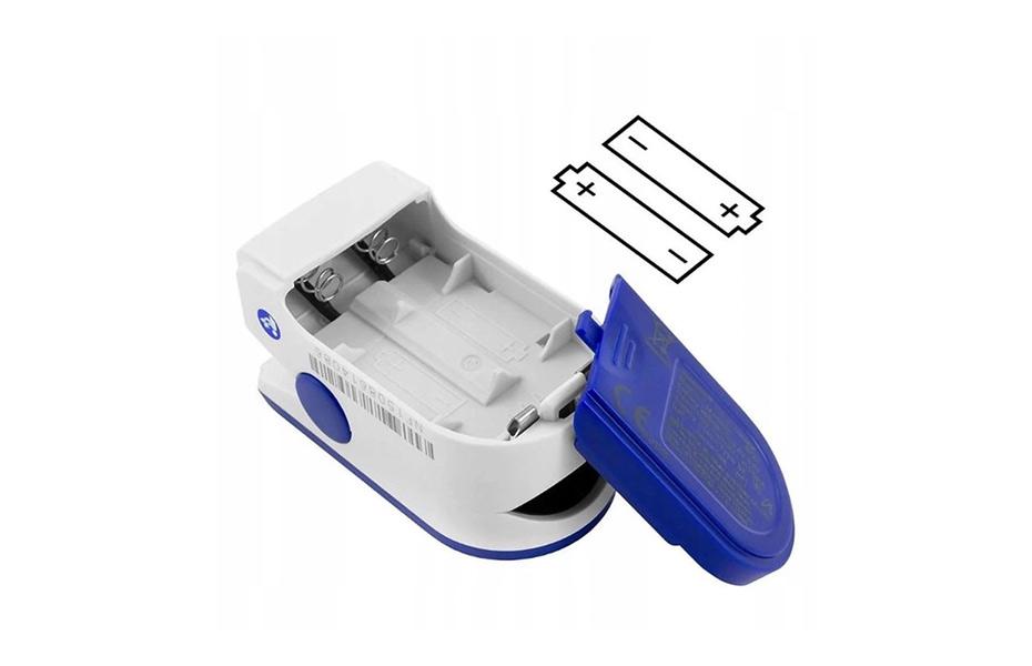 7,9€ από 14,95€ για Παλμικό Οξύμετρο Δακτύλου, για αξιόπιστη μέτρηση του κορεσμού του οξυγόνου του αίματος και των καρδιακών παλμών