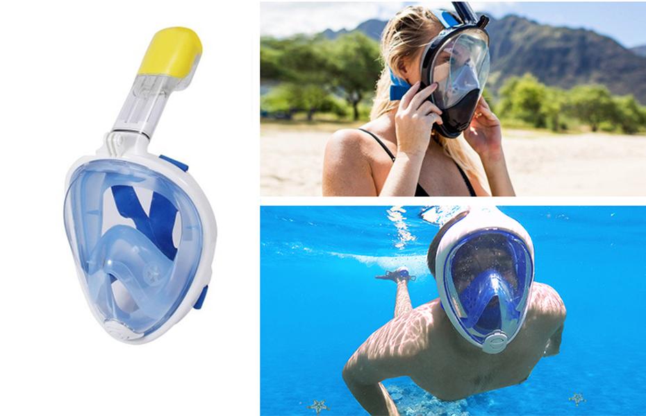 19,8€ από 84€ για αντιθαμβωτική Full Face Μάσκα Θαλάσσης με Ενσωματωμένο Αναπνευστήρα, Βάση για Action Camera & Εμβέλεια Όρασης 180°! Μια επαναστατική, ολοκαίνουργια μάσκα  (Μοντέλο 2021), ιδανική για Κατάδυση & όσους λατρεύουν τη θάλασσα!