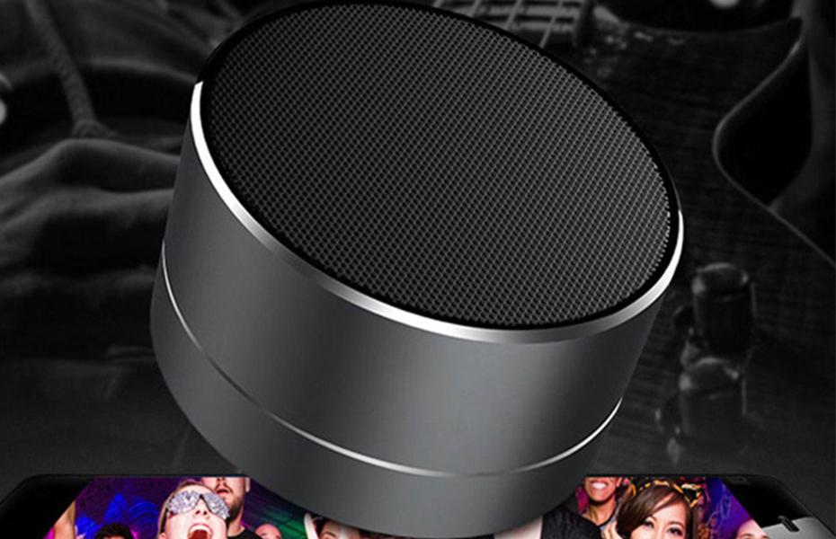 10€ από 16€ για ασύρματο, επαναφορτιζόμενο, Bluetooth ηχείο Α10 με LED φωτισμό, για να ακούτε μουσική με εξαιρετική ποιότητα ήχου, όποτε και οπουδήποτε θέλετε
