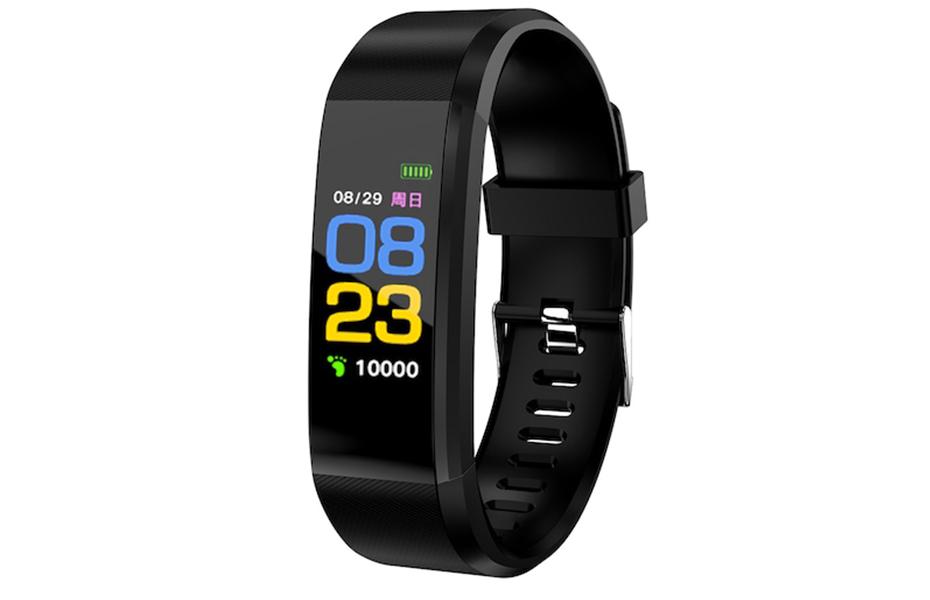 11€ από 14,9€ για Smart band Fitness Tracker 115plus, το απόλυτο Activity Tracker, με παρακολούθηση Καρδιακών Παλμών & Πίεσης Αίματος