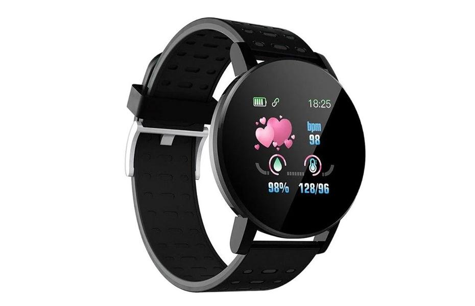 15€ από 19,9€ για Smartwatch 119 Plus με Μετρητή Καρδιακών Παλμών σε Μαύρο χρώμα, ιδανικό για αθλητικές δραστηριότητες & τη διαχείριση της υγείας σας