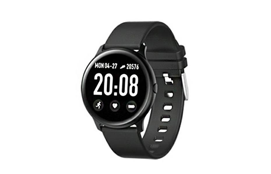 27,9€ από 39,9€ για Smartwatch με Μετρητή Καρδιακών Παλμών Χρώματος Μαύρο & έγχρωμη οθόνη αφής 1.3